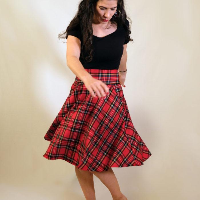 FONZY : écossais rouge