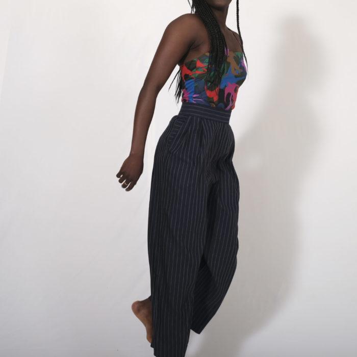Osiris : pantalon taille haute 100% Coton